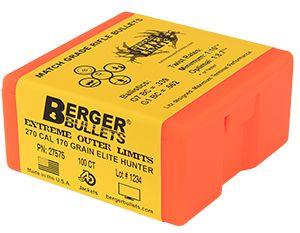 Berger 270 Caliber 170 Grain EOL Elite Hunter