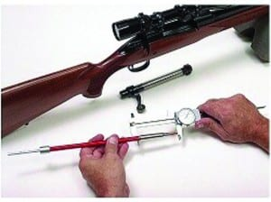 Figure 5. Hornady 'Lock-n-load', formally known as the 'Stony Point Gauge'.