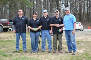 Spindle Shooters F-Open Team.  (Photo courtesy of Jeff Rorer)