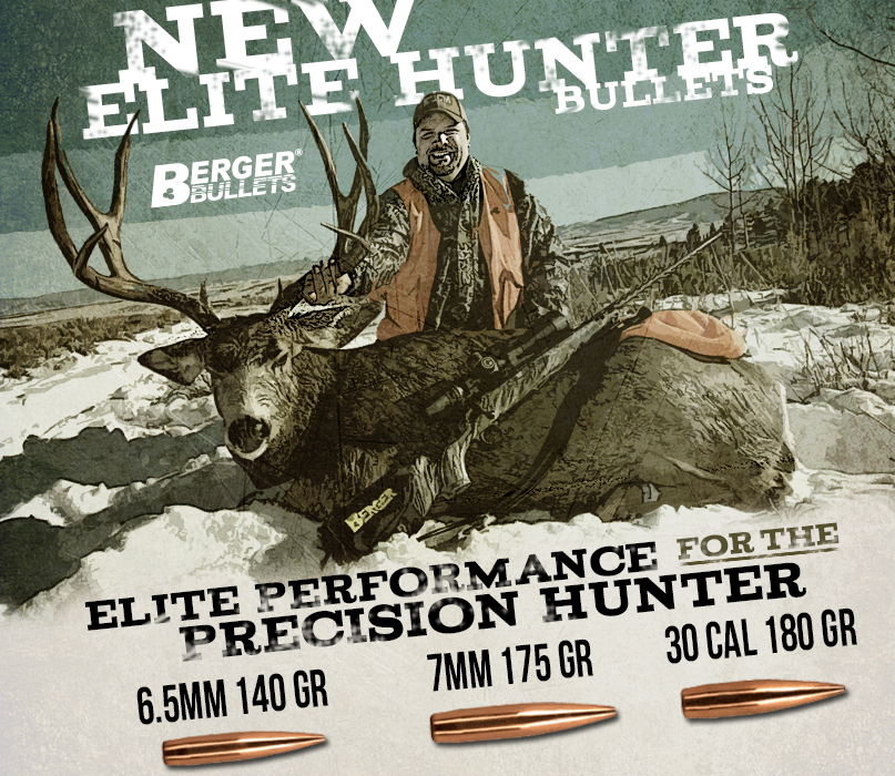New Berger Elite Hunter Offerings Now Available! – Berger Bullets