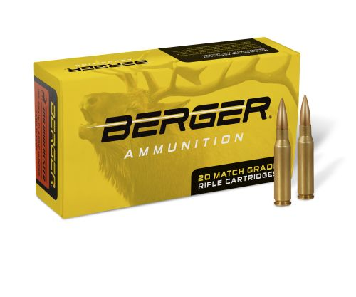Berger Match Grade Ammunition – Berger Bullets