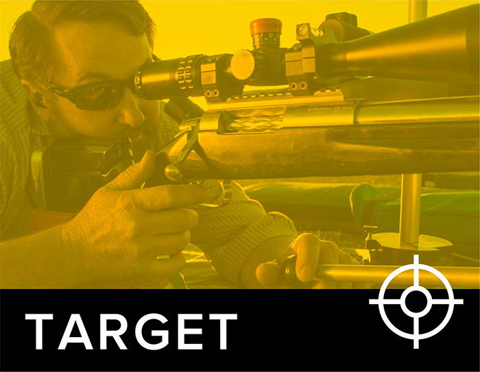 image of target shooter by Berger Bullets