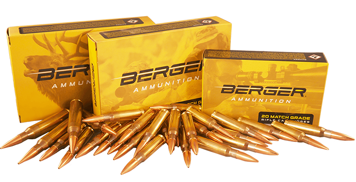 Berger Bullets – Match Grade Rifle Bullets for Target, Varmint