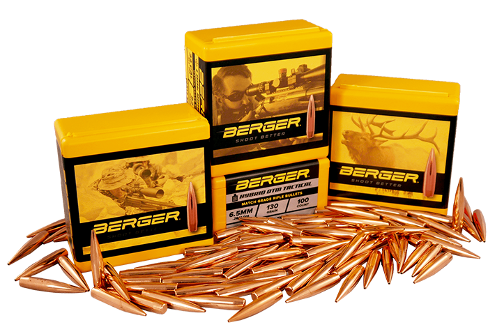 Berger Bullets – Match Grade Rifle Bullets for Target