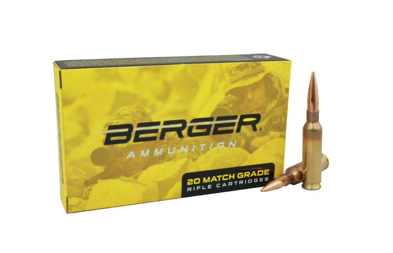 Berger 6MM Creedmoor Ammunition