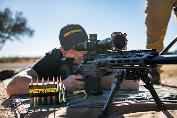 Berger ELR Projectile Selected for Extreme Sniper Strike Operations Program