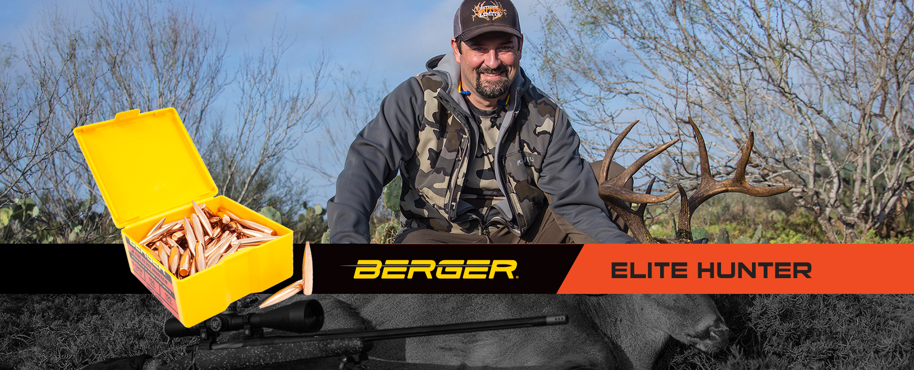 Berger Extreme Outer Limits Elite Hunter Bullet line