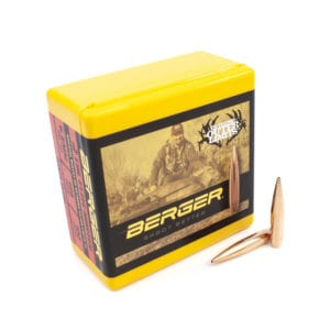 image of a pack of EOL Berger Bullets