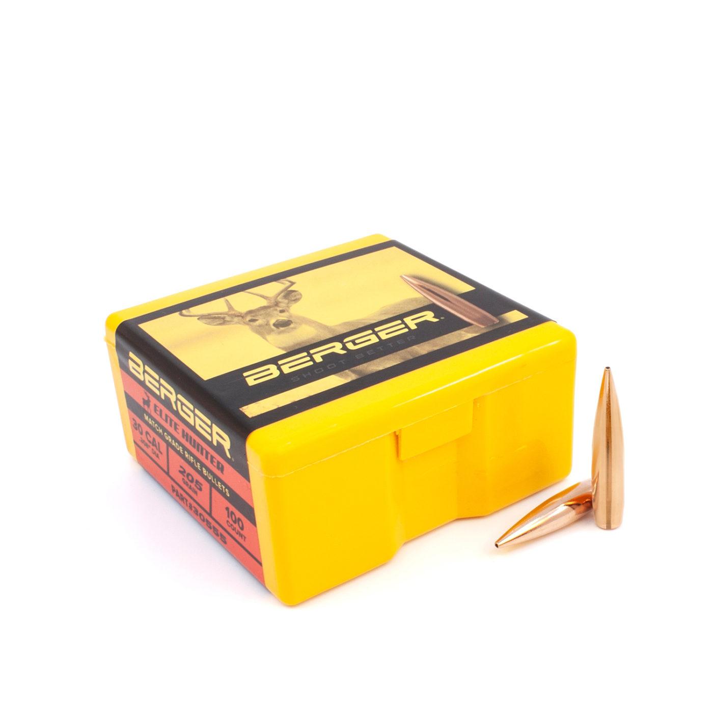 30555 30Cal 205gr Elite Hunter Box