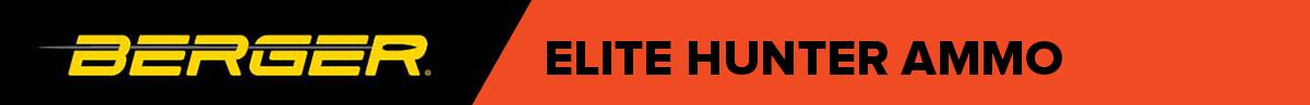 Berger Elite Hunter Ammo Banner