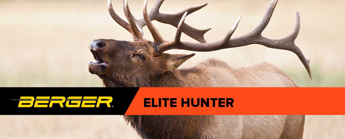 Berger Elite Hunter Bullets Header