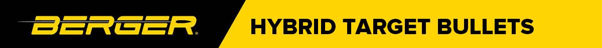 Berger Hybrid Target Bullets Banner