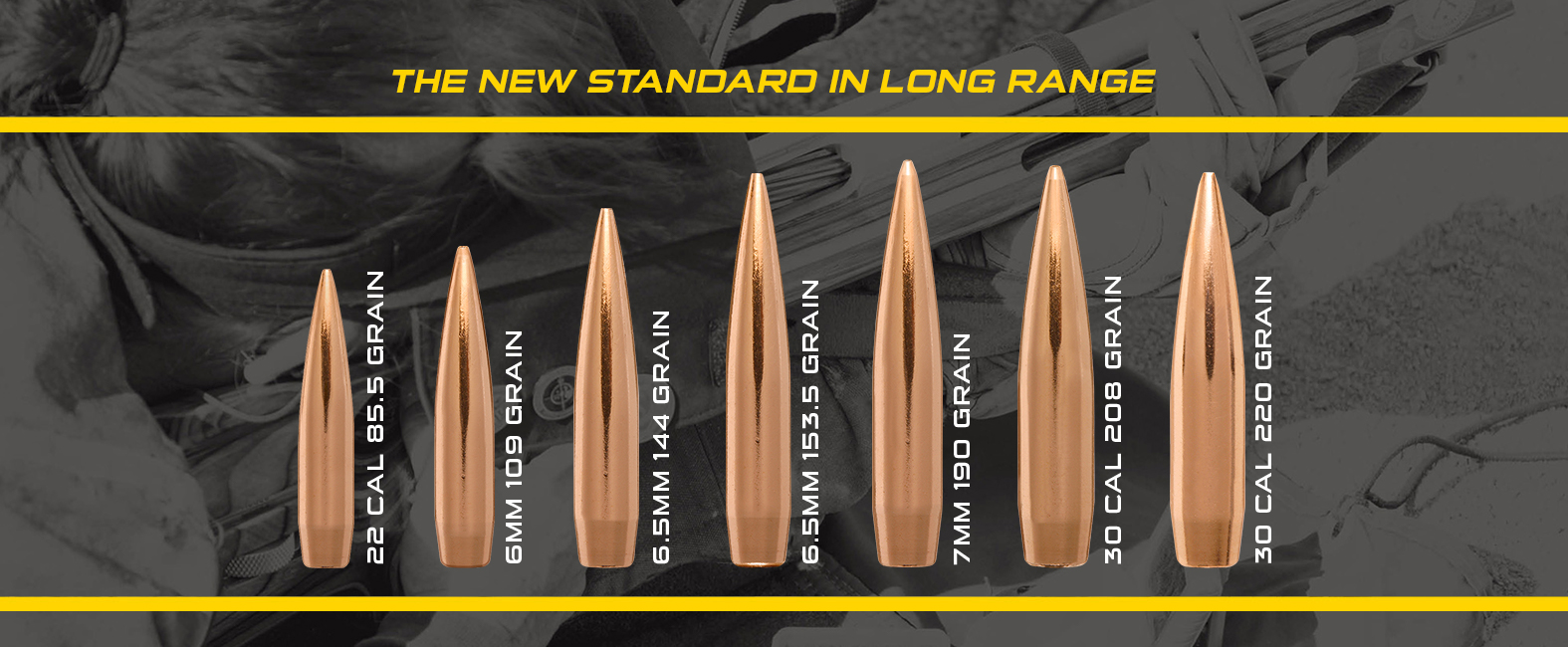 image of Berger Long Range Hybrid Target bullets
