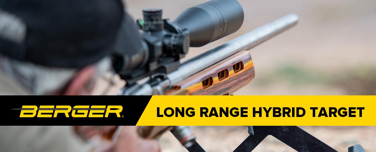 Berger Long Range Hybrid Target Bullets Header