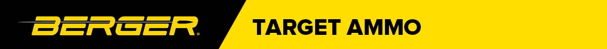 Berger Target Ammo Banner