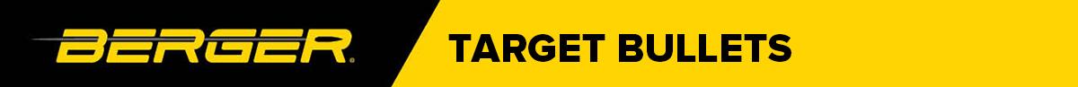 Berger Target Bullets Banner