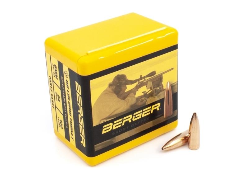 Berger Target Bullets