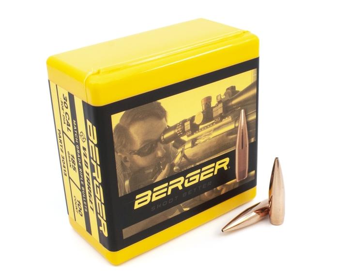 Berger VLD Target Bullets