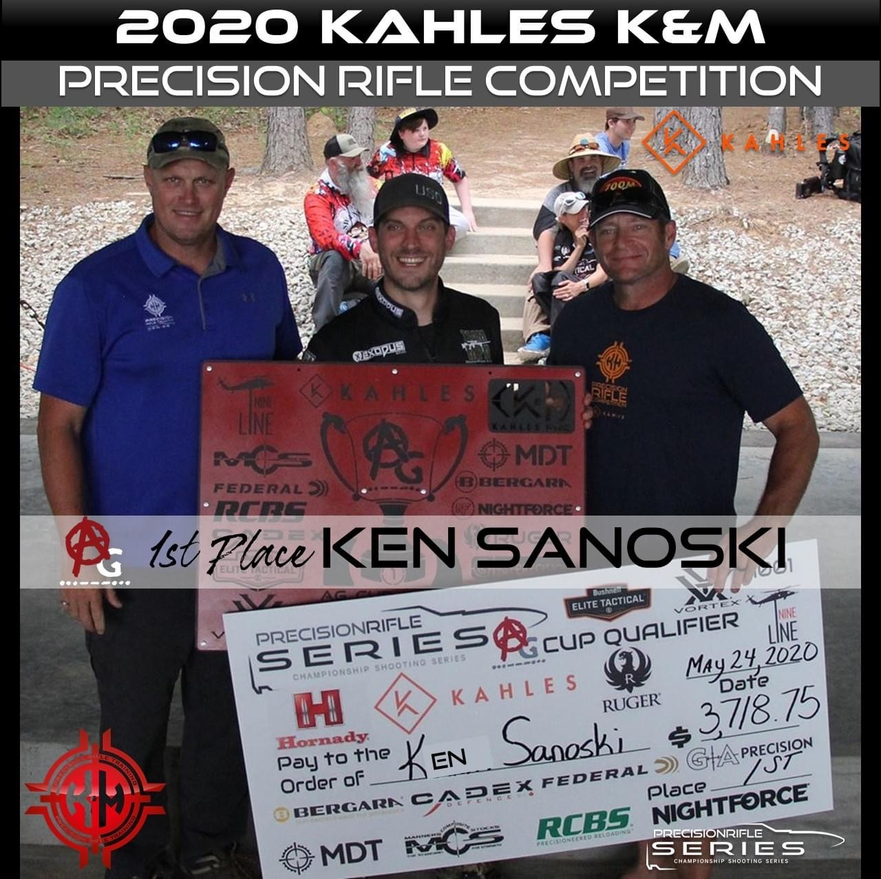 2020 Kahles K&M 1st Place Ken Sanoski