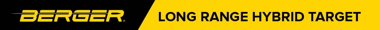image of Berger Long Range Hybrid Target Banner