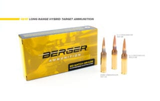 New Berger LRHT Ammo