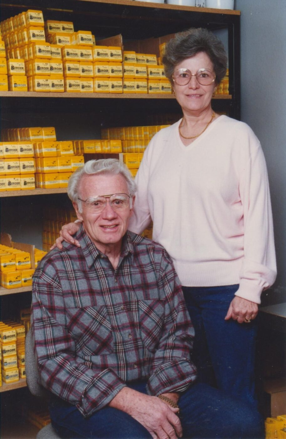 Walt and Eunice Berger