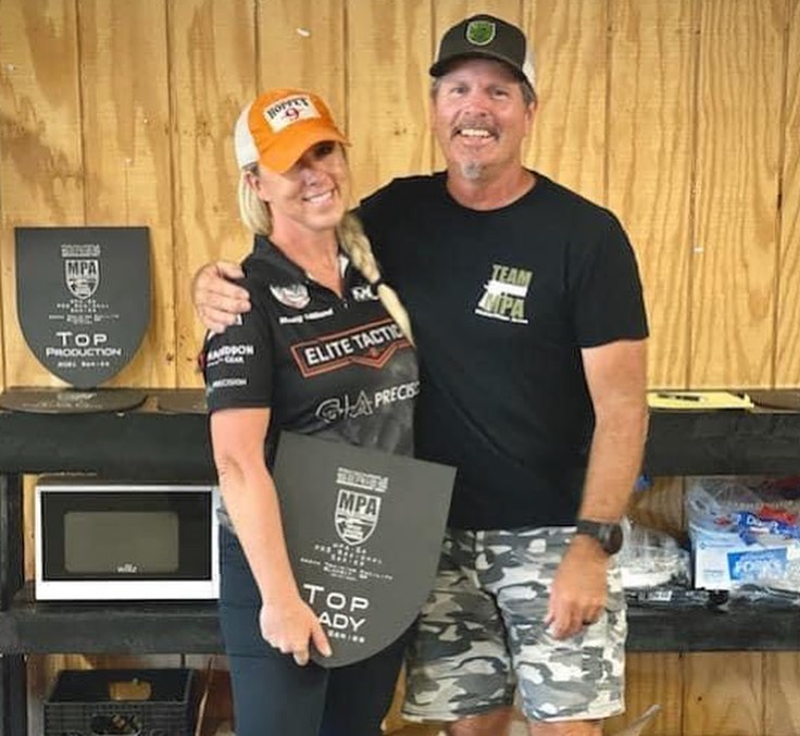 Berger's Missy Gilliland Wins Top Lady in multiple PRS Series