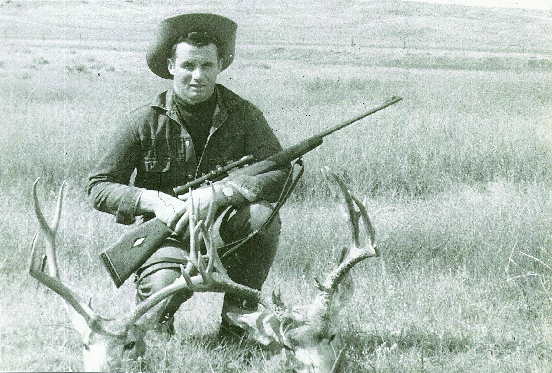 Young Walt Berger Antelope Hunting